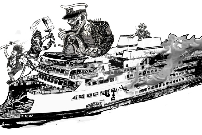 The Ferry Riot - Produced for KBCS's Unmute the Commute