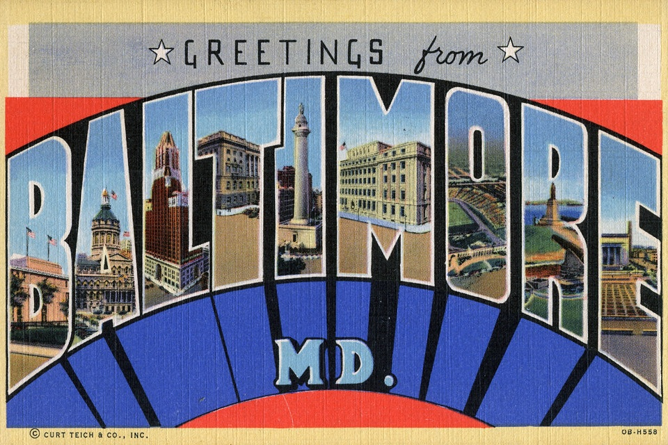 Baltimore Audio Postcard - Produced for WAMU's Metro Connection