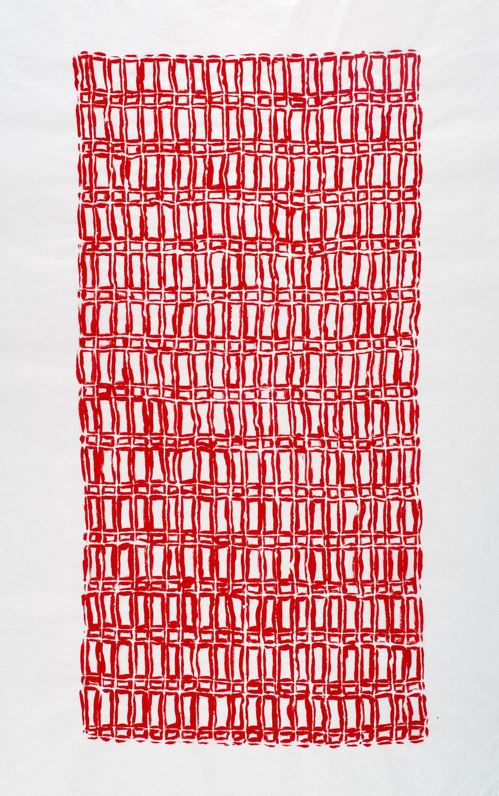 Acrylic on Kozo Paper