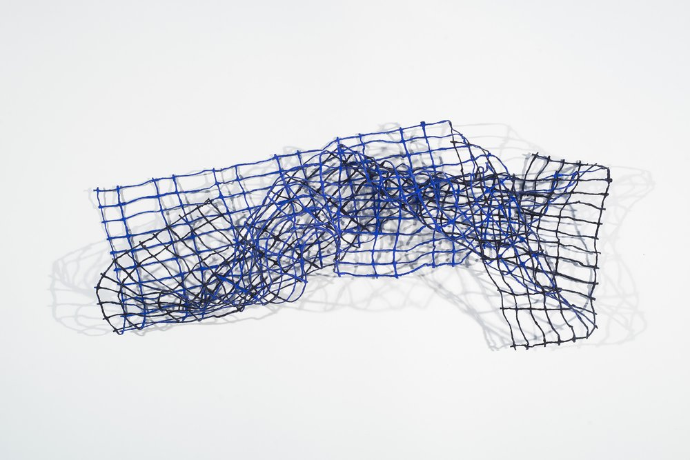 Acrylic on Lokta Paper Yarn