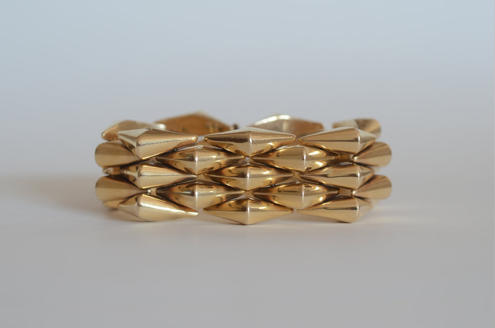 Retro 18kt Yellow Gold Bracelet