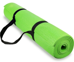Yoga Mat (1/4-inch thick with carrying strap)