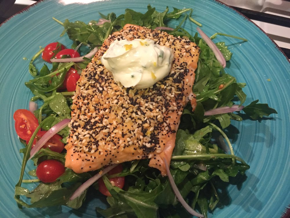 Home Chef's Everything Bagel-crusted Salmon