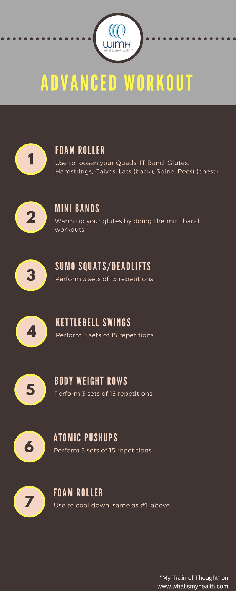 Home Gym Workout- Advanced