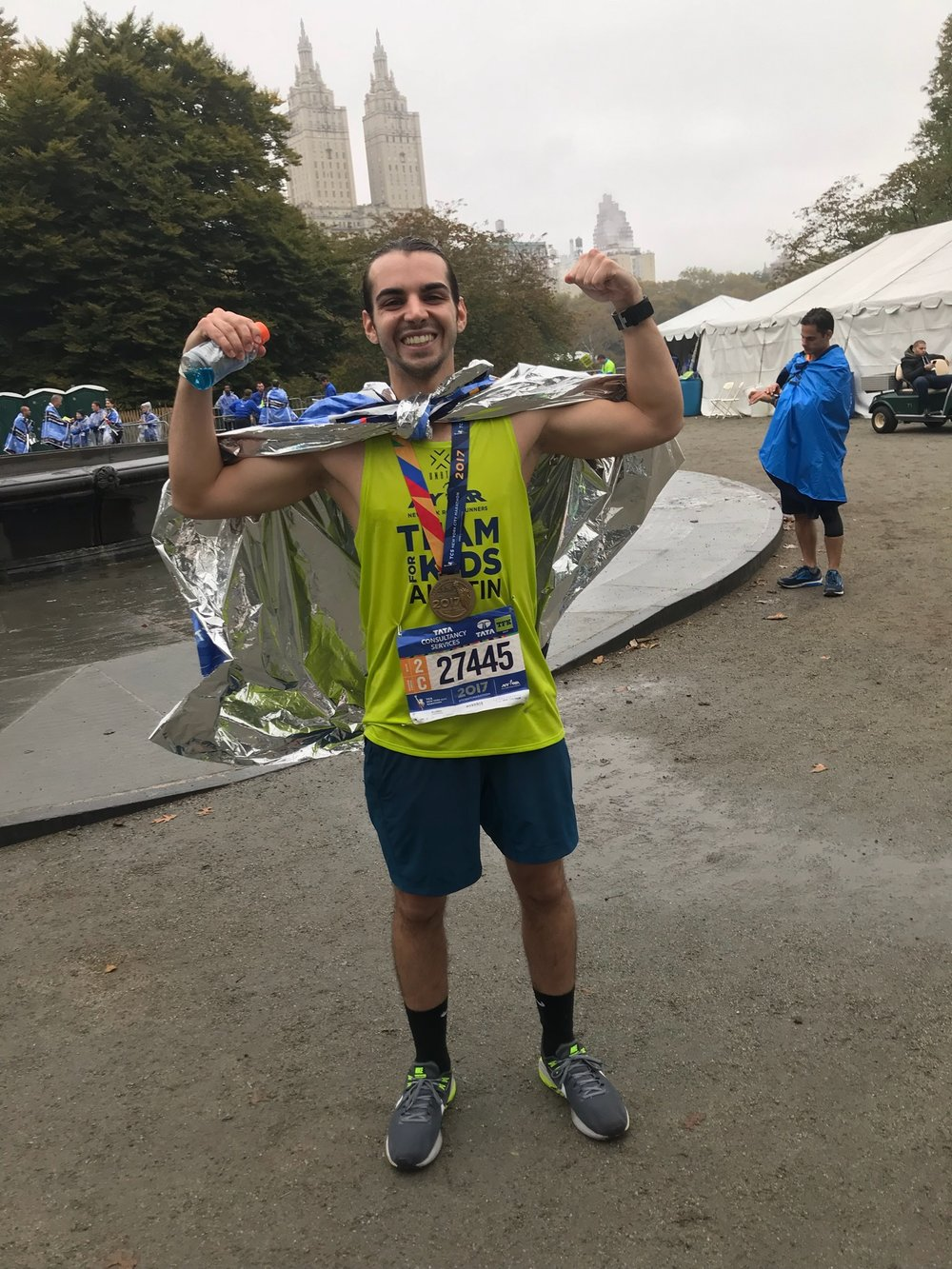 Austin Kapetanakis, NYC Marathon (2017)