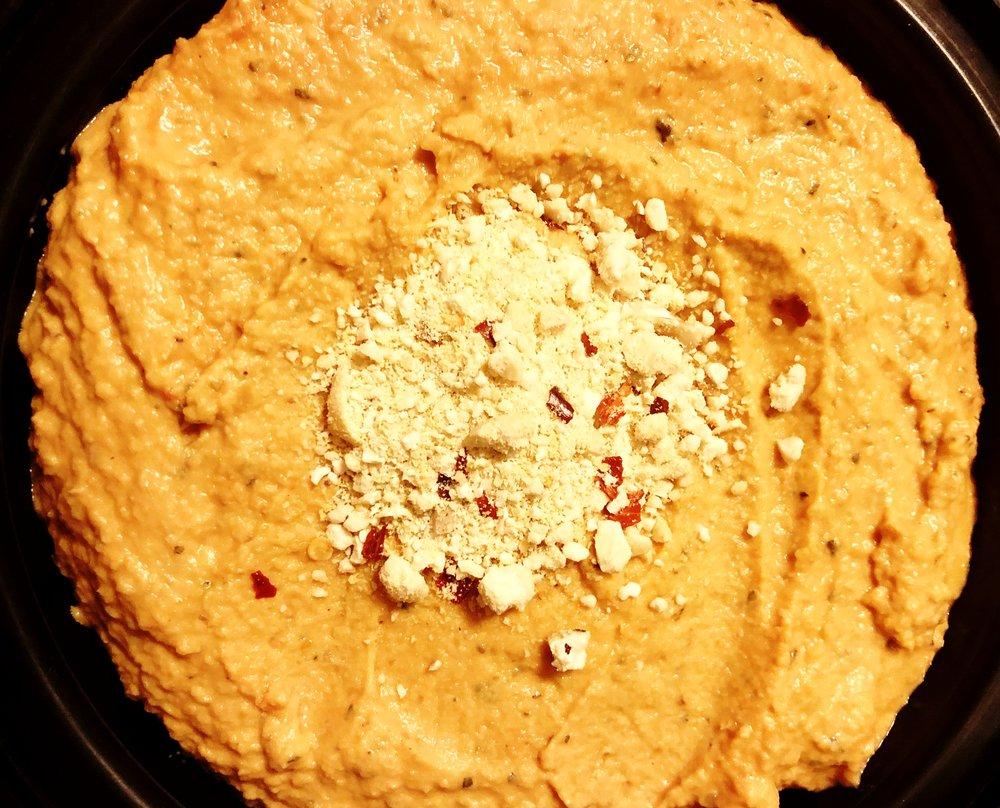 Pizza Hummus Photo credit: Alyssa DelSoldato