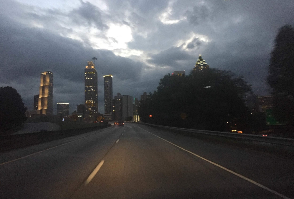 Figure 1: Atlanta, at Dusk. Photo Credit: Aretina Hamilton