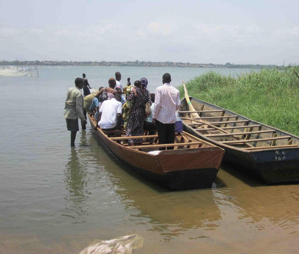 BVC Togo 2010 crossing on boat.jpg