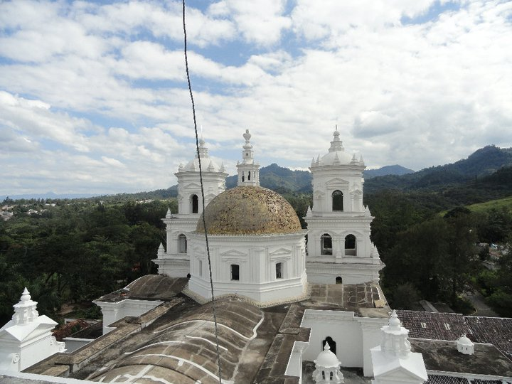 BVC Esquipulas 2010 view of top of basillica.jpg