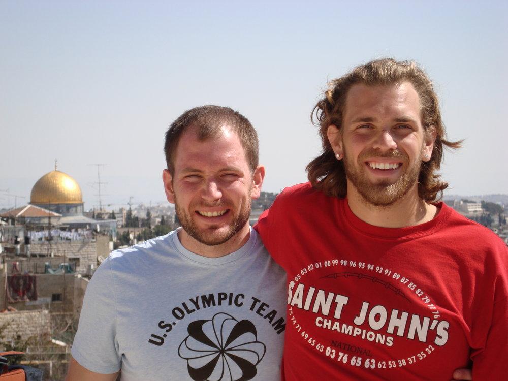 BVC Tabgha 2008 Mike and Nick Bancks.JPG