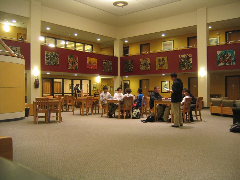 BVC Newark 2006 Study area at St. Benedict Prep.JPG