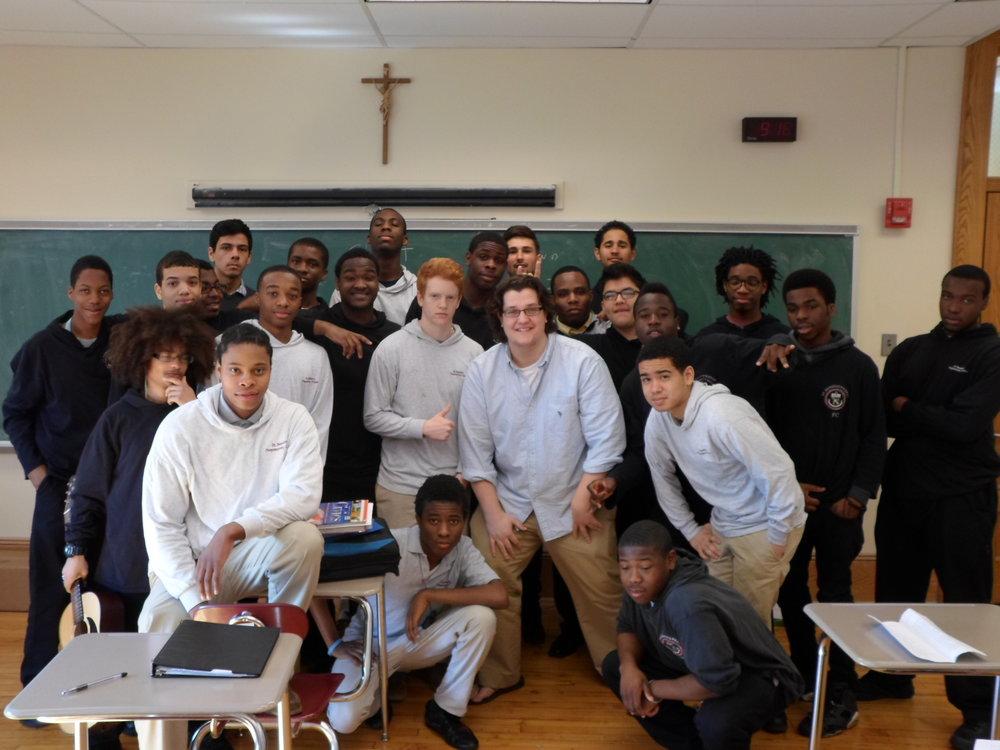 BVC Newark 2012 Jake Ingalls class.JPG