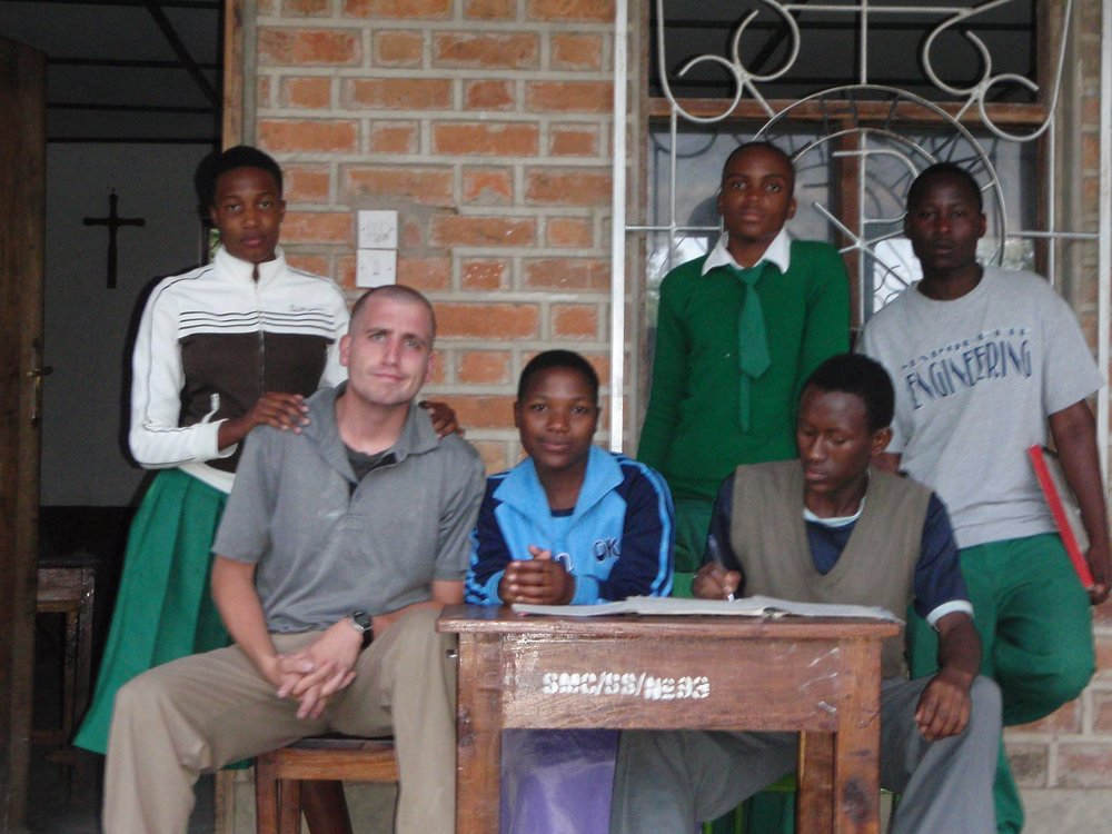 BVC Mvimwa 2009 James Slagle at Kipili.JPG