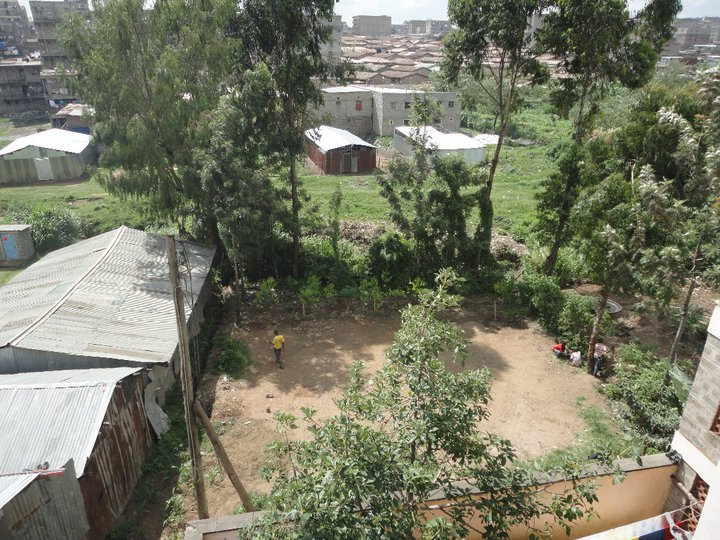 BVC Nairobi 2010 site of garden before fence.jpg