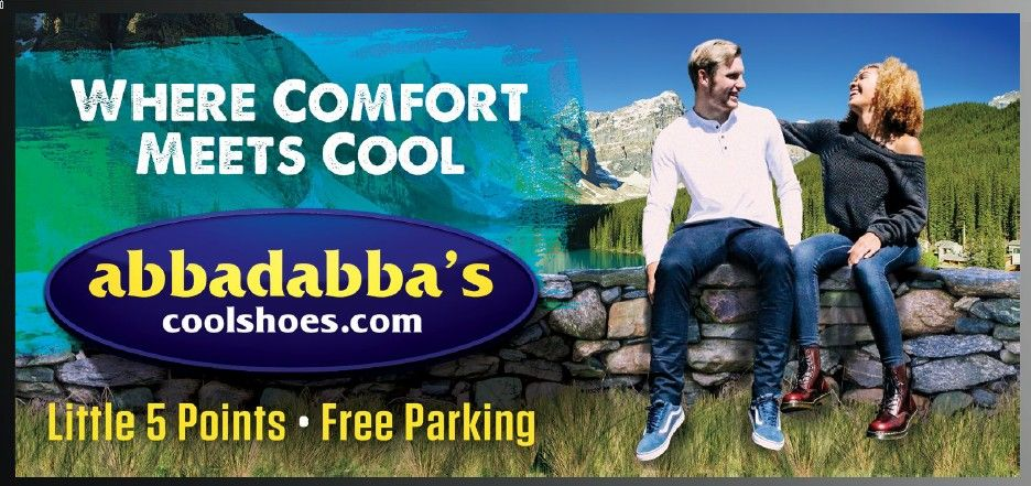 Atlanta Billboard for Abbadabba's featuring The Burnette Agency Photography