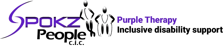 Spokz People CIC | Disability Support, Counselling & Therapy | Purple Therapy