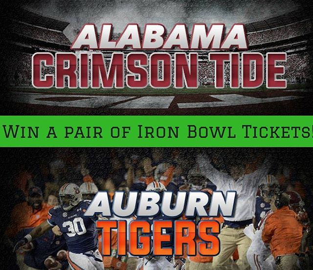 It's #ironbowl week! Don't forget to enter our contest on our website stmichaelsironhorse.org. #auburn #alabama #rolltide #wareagle #secfootball #ironbowl2016