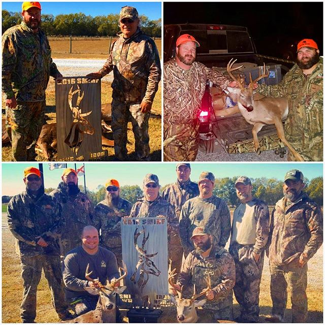 A #behindthescenes look 👀 at our #veteran #retreats . #welovevets #woundedveterans #farmlife #hunting #deer #veteranhunt #marion #alabama