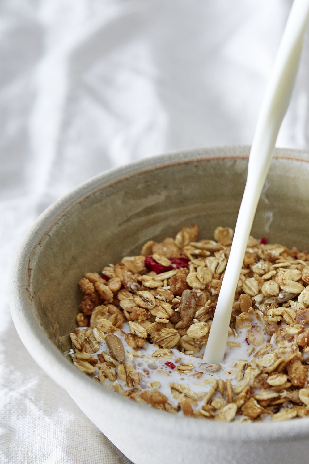 Just Live A Little Strawberry Granola