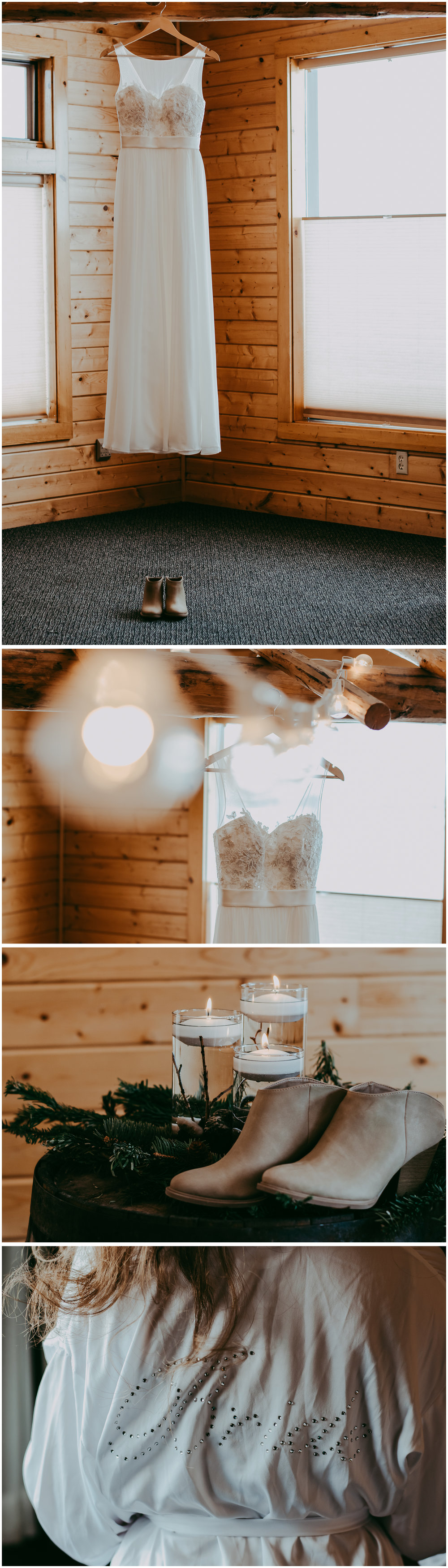 Big Sky Montana Winter Wedding. Sagebrush Studio Photography, Shelby Montana