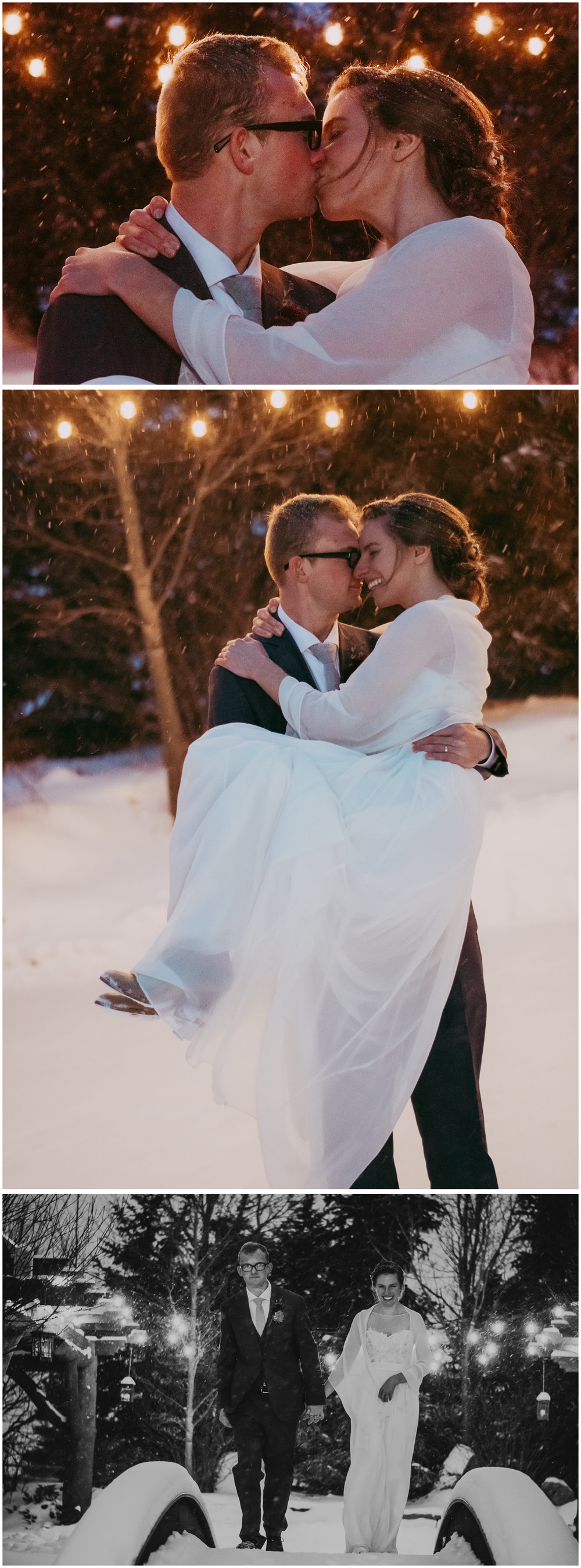 Big Sky Winter Wedding. Sagebrush Studio Photography, Shelby Montana