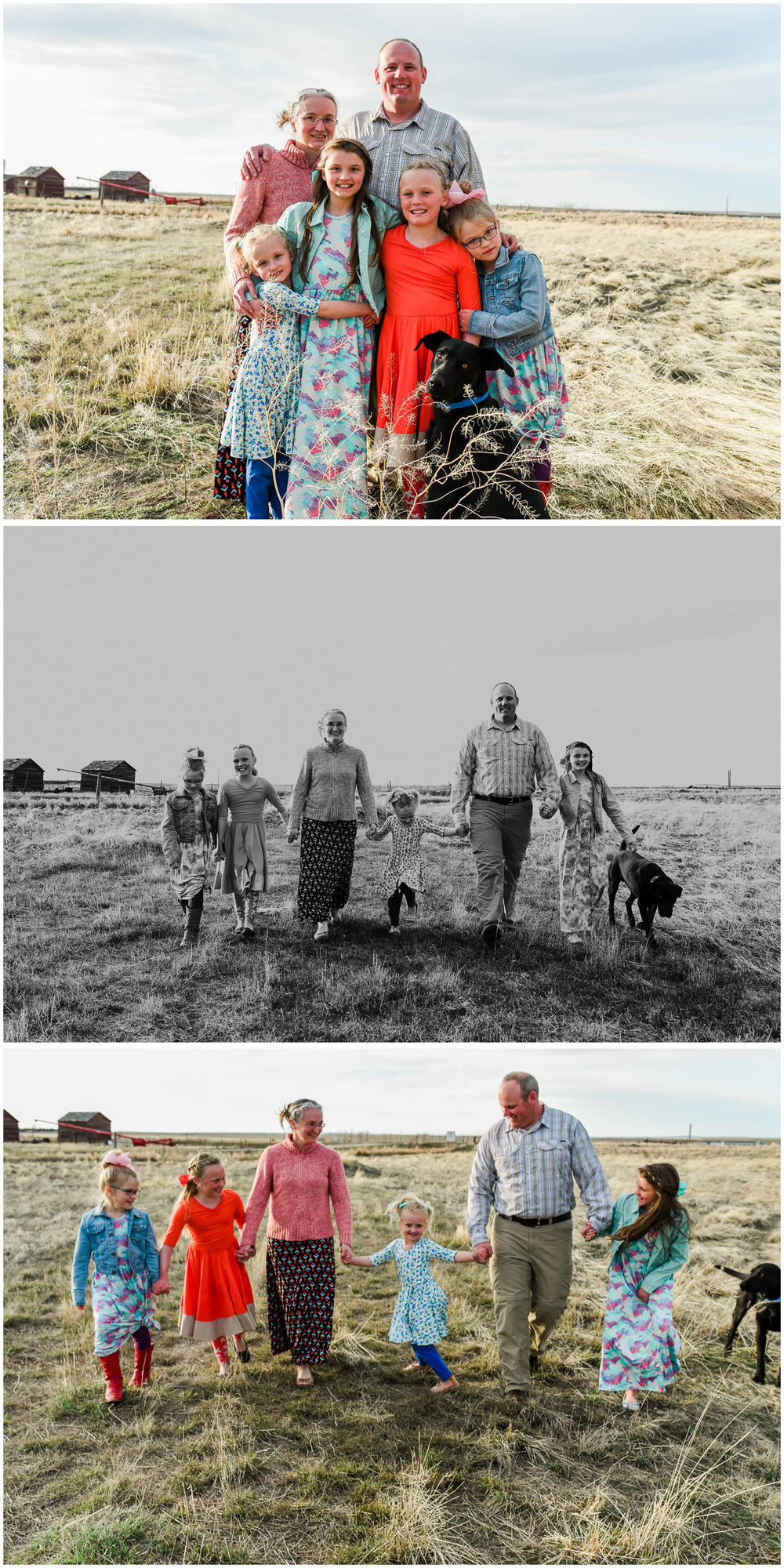 Small Town Sunshine. Family Photography by Sagebrush Studio Photography. Shelby, Montana.