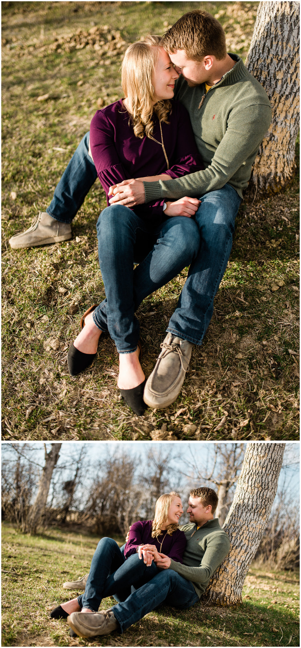 Duane + Brittney Engagement Session. Sagebrush Studio Photography. Shelby, MT.