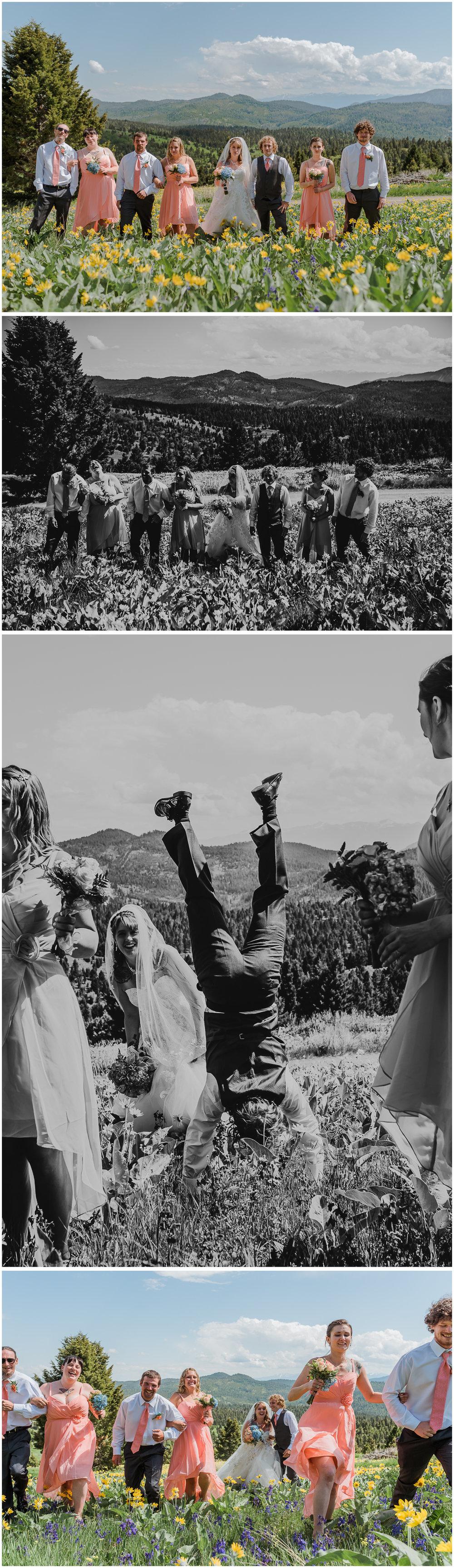 Montana Mountain Wedding. Sagebrush Studio Photography. Shelby, Montana. North Central Montana Photographer.