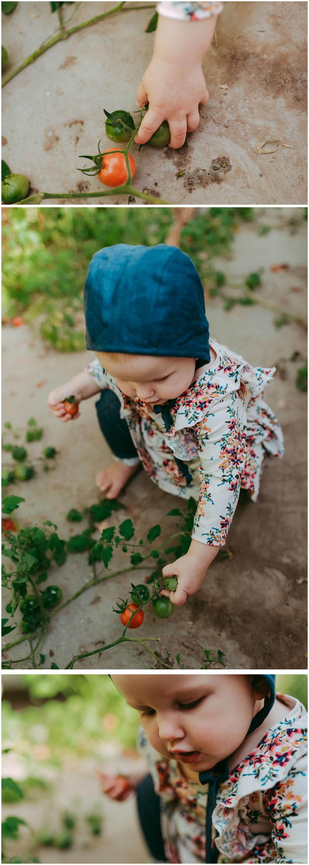 Gretta In The Greenhouse
