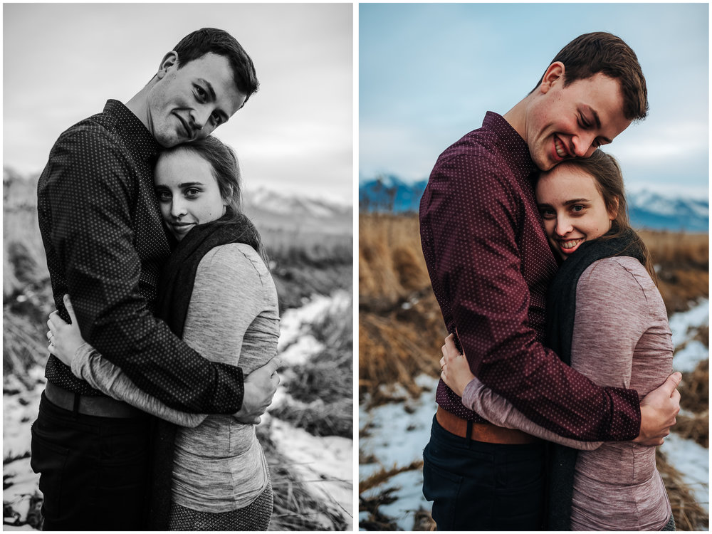 Montana Engagement Session. He fell in love with an Irish girl.
