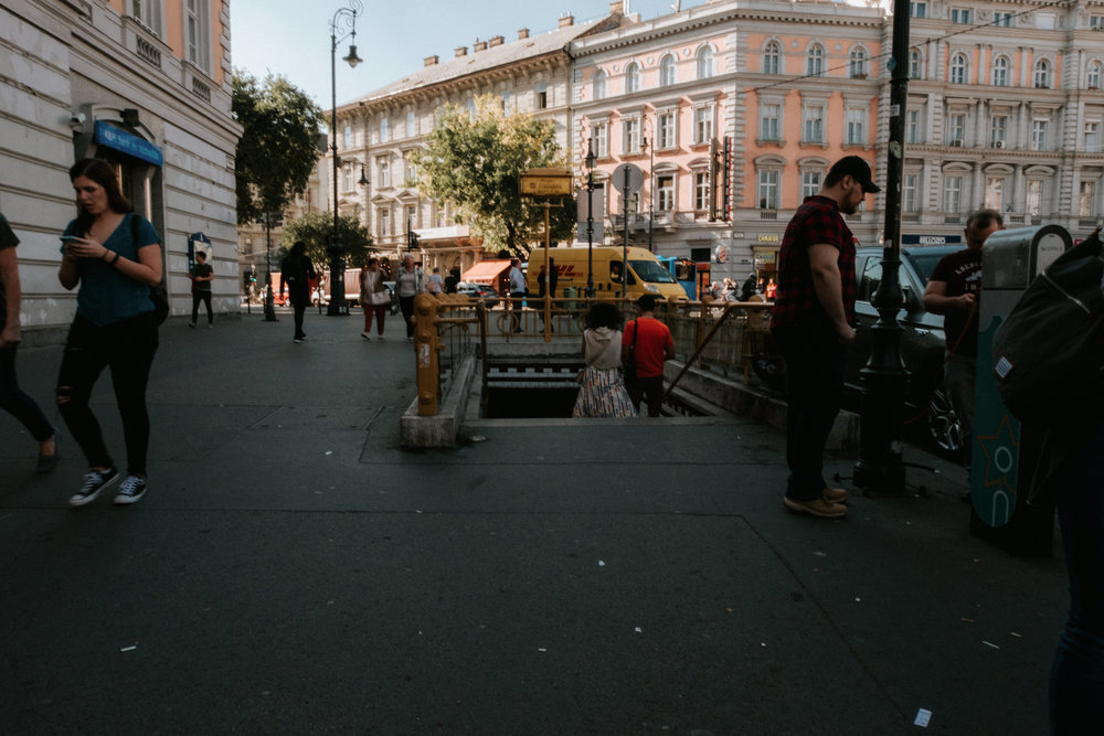Central Europe Street Photography
