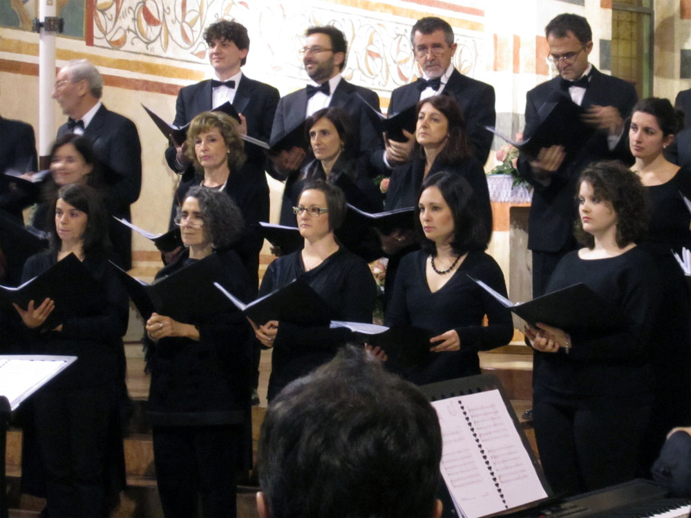 Professional Choir in Verona, Italy — 2012. Photographer unknown.