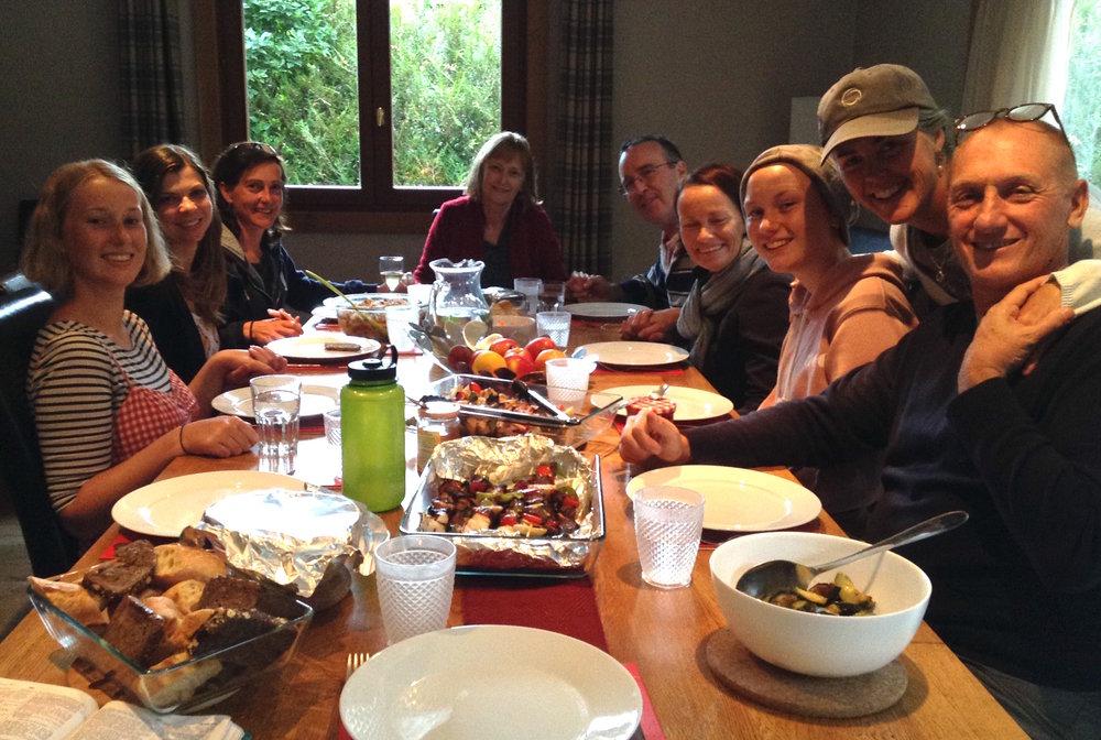 Chamonix Dinner 2