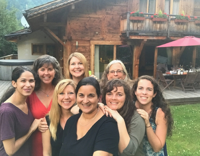 The women of Intermissionary Chamonix #1