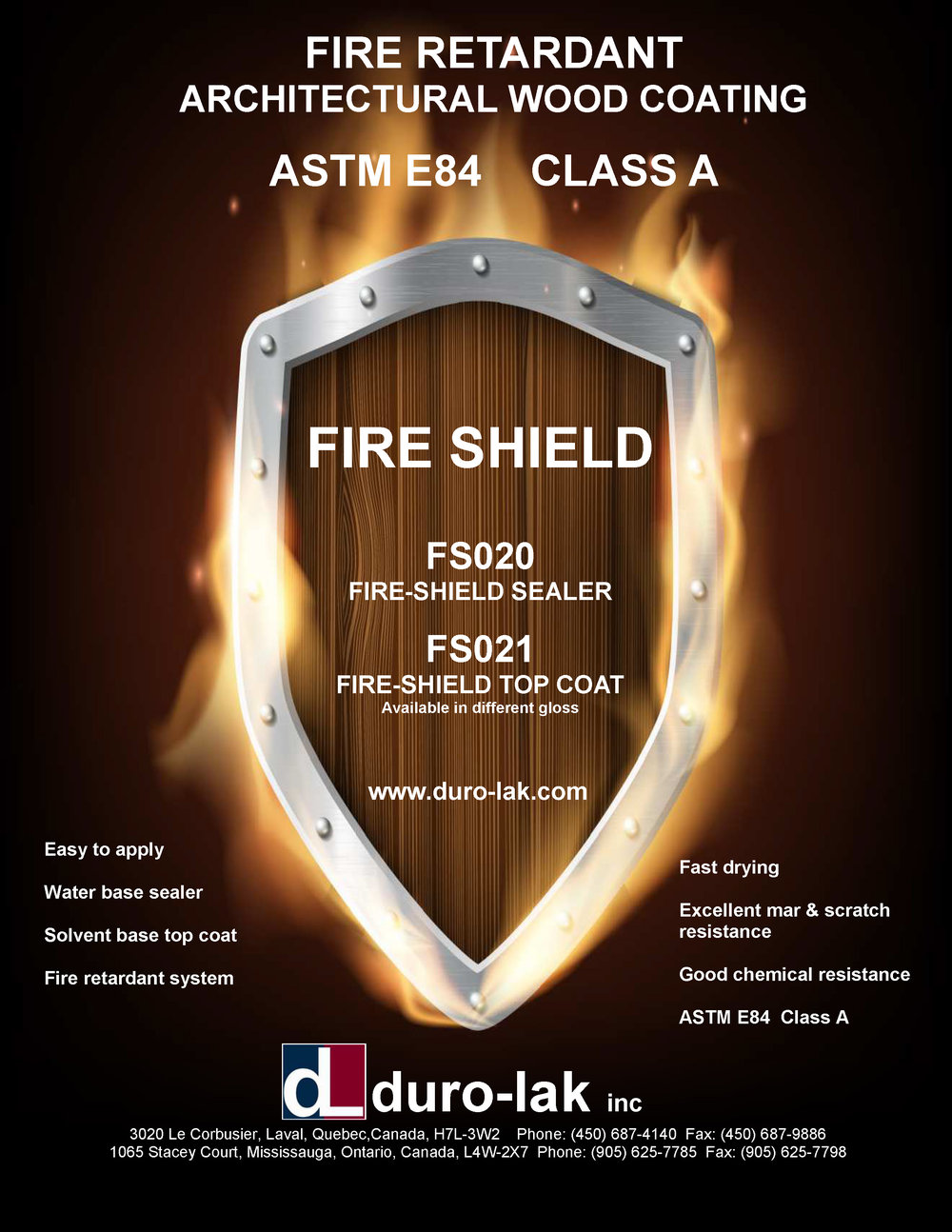 Fire Shield brochure