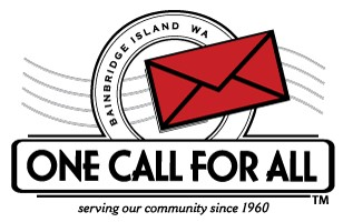 One Call For All - See what one red envelope can do for so many...Home of the Red Envelope campaign since 1960, One Call for All supports more than 100 local non-profit organizations on Bainbridge Island, Washington.Donate NowSupport any or all of our 123 local non-profits with a credit card online, or download and print a Red Envelope Donation Form and mail it to P.O. Box 10487, Bainbridge Island, WA 98110. You can also make a gift of appreciated stock or other assets. Call Tracey at 206.842.0659 to learn more.