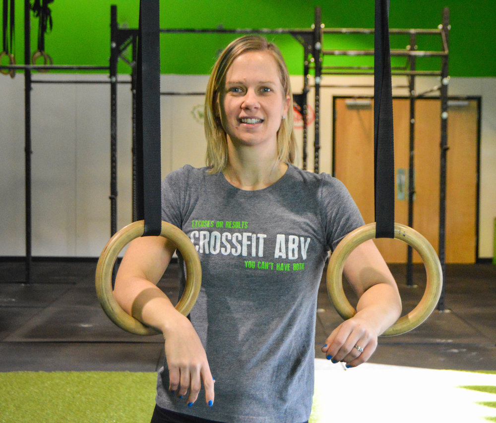 THERESA GEBHARDT   CrossFit Level 1 CrossFit Level 2 CrossFit Kids CrossFit Sports Specific CrossFit Gymnastics
