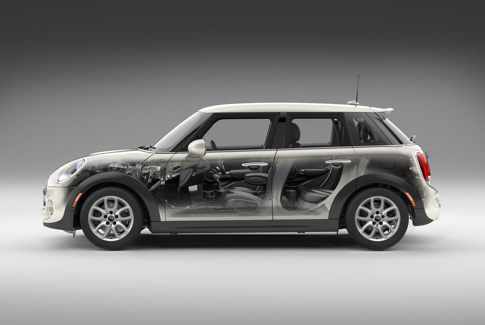 AGENCY-PARTNERS AND NAPIER > ART DIRECTOR-JEFF HOPPER > CLIENT-MINI  100% CGI