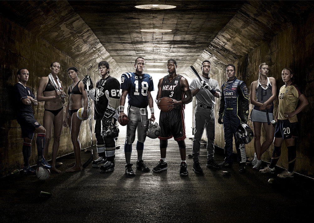 AGENCY-ELEMENT 79 > ART DIRECTOR-STEVE DRIFKA > PHOTOGRAPHY-TIM TADDER > CLIENT-GATORADE  CREATIVE IMAGING