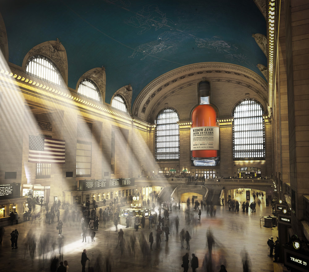 AGENCY-JAC CREATIVE > ART DIRECTOR-JACK JANKOWSKI > PHOTOGRAPHY-WAYNE CALABRESE > CLIENT-WIDOW JANE DISTILLERY  CGI AND CREATIVE IMAGING MIX