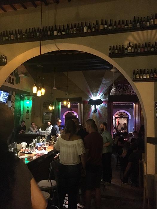 "La Taberna Lupolo, Spanish for""Beer Heaven"""