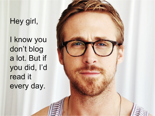 Who doesn't love a good Ryan Gosling meme?!  Source