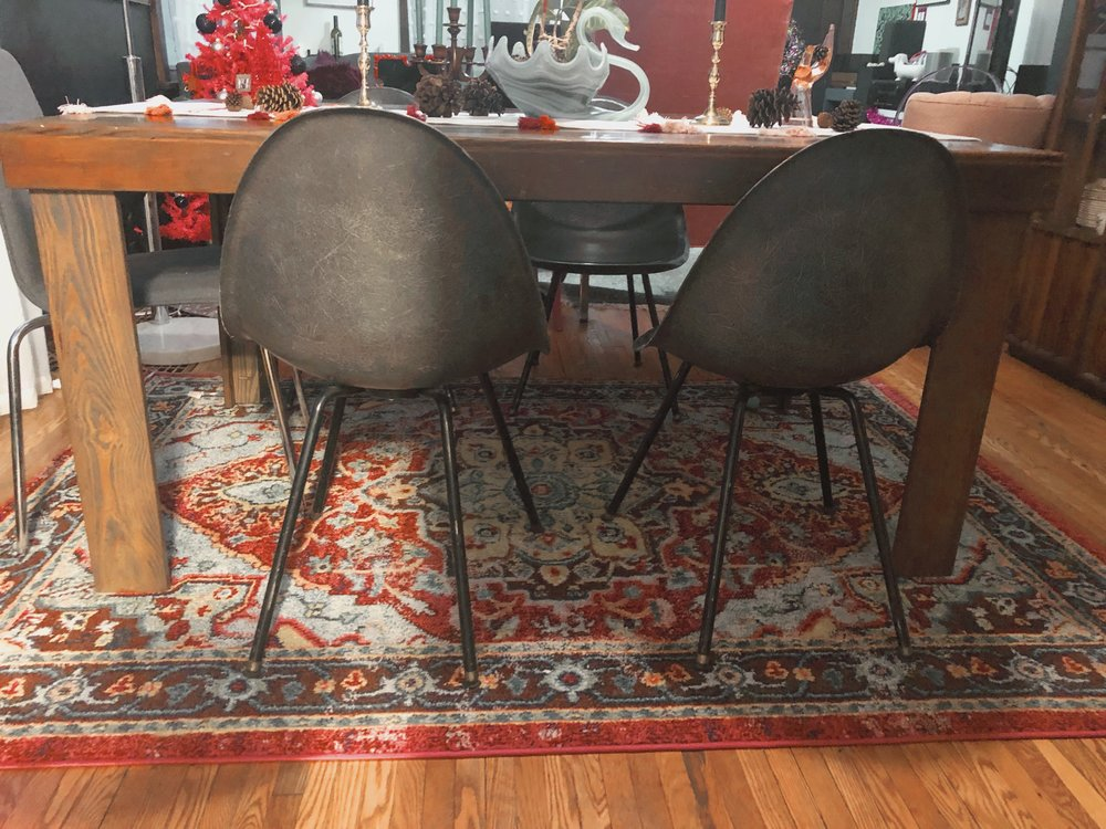 MCM Shell Chair Set