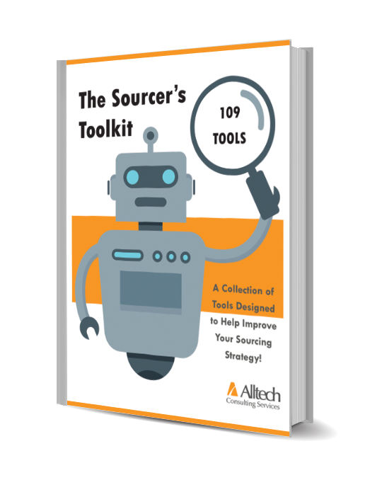 Looking for ways to help improve your sourcing game?! - Download our free ebook!