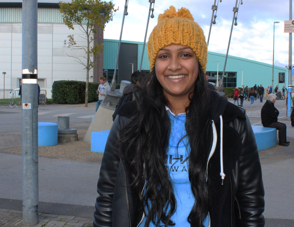 Manchester City Female Football Fan - This Fan Girl