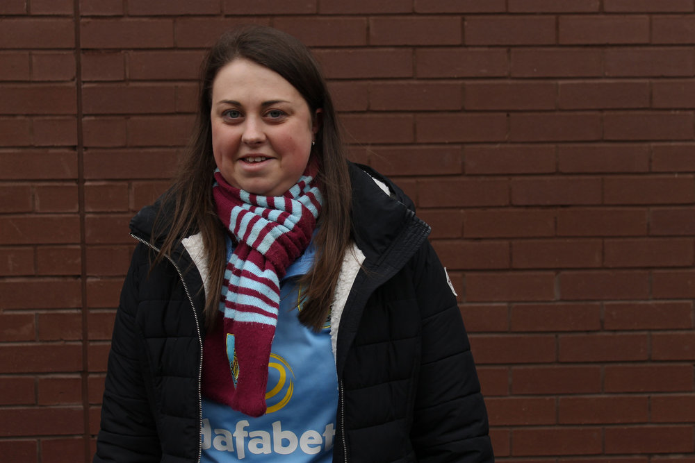 Burnley Female Football Fan - This Fan Girl