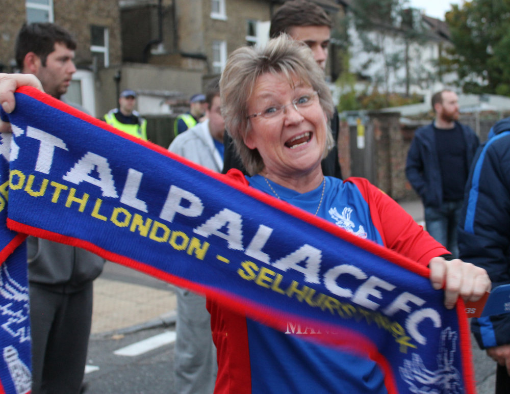 Crystal Palace Female Football Fan - This Fan Girl