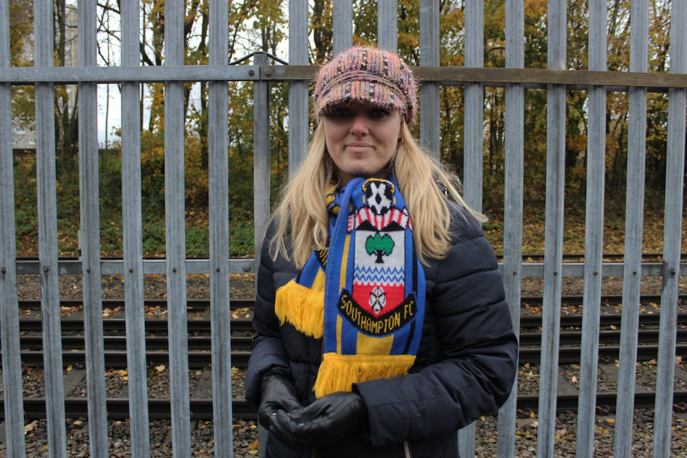 Southampton Female Football Fan - This Fan Girl