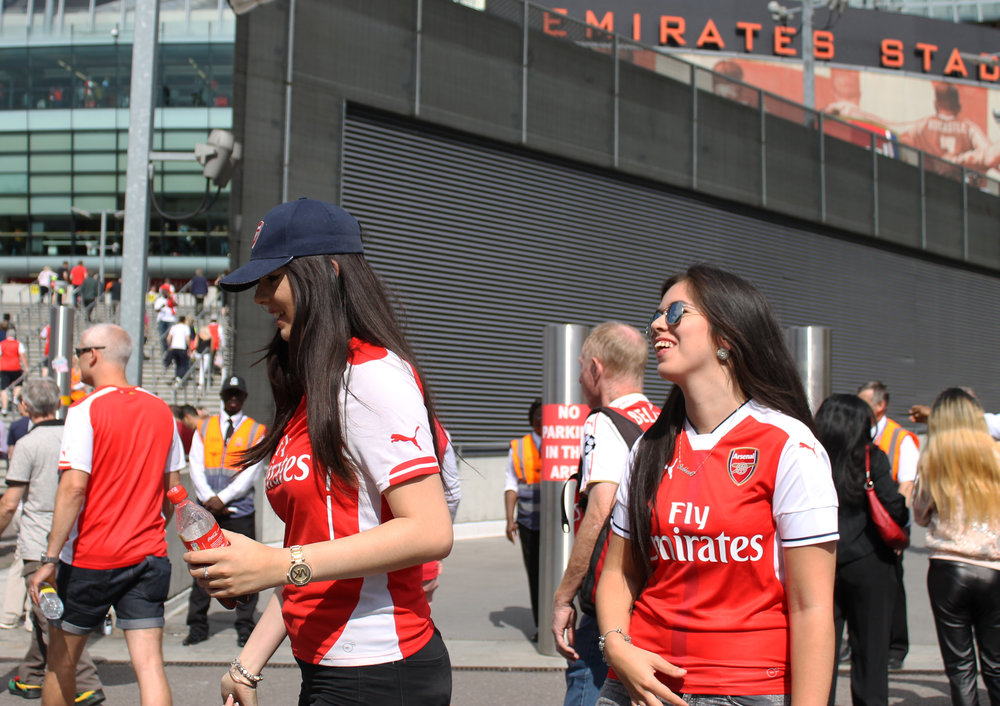 Arsenal Female Football Fan - This Fan Girl