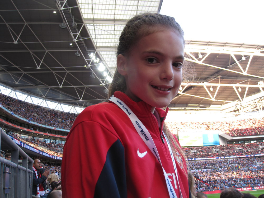 Ceri Milnes - Arsenal FC